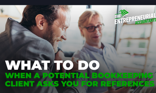 What to Do When a Prospective Bookkeeping Client Asks for References